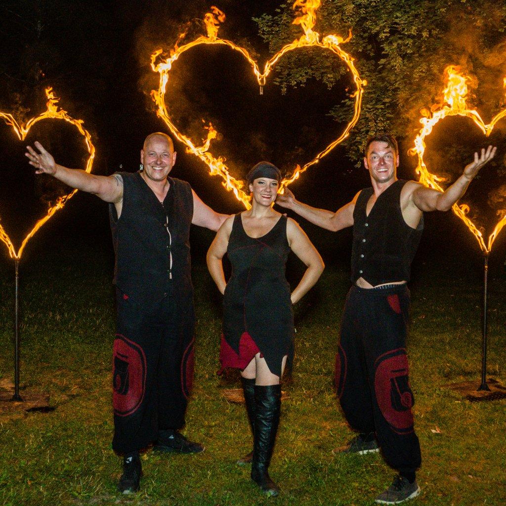 Faszination Feuershow | Smart Nett